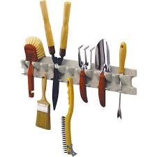 suncast 2 u0027 small tool hanger hand tool rack v713 do it best