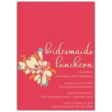 bridesmaids luncheon invitation wording chalkboard floral bridal luncheon invitations paper style