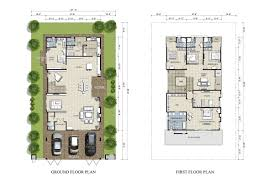 homely design house plan malaysia 3 floor bungalow in on modern