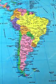 map of south america south america map stock photo fer737ng 2951763