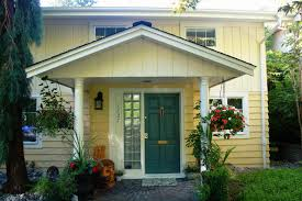 blue front door for a warm and friendly house homestylediary com