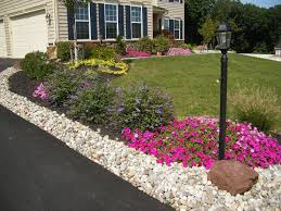 Front Garden Decor Sunshiny Front Yard Landscaping Ideas Design Ideas For Image Front