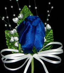royal blue boutonniere corsages boutonnieres for wedding balls prom