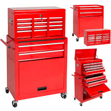 Kennedy Tool Box Side Cabinet Portable Top Chest Rolling Tool Storage Box Cabinet Sliding