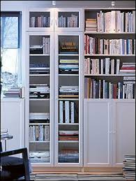 Ikea Book Shelves by Pretty Bookshelves And Storage Using 3 Ikea Besta Double Bookcases