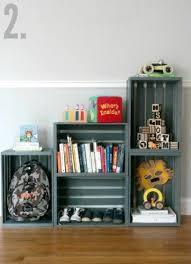 Crate Bookcase Best 25 Crate Shelves Ideas On Pinterest Crates Bookshelf Diy