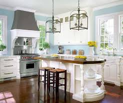 light blue kitchen ideas fascinating light blue kitchen walls with small bar and brown