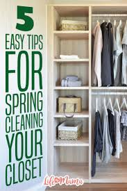 5 easy tips for spring cleaning your closet wardrobes stylish