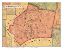Massachusetts Maps by Old Maps Of Middlesex County Ma