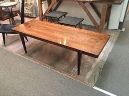 long coffee table in brazilian rosewood severin hansen 1960s