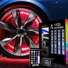 lexus pursuits visa platinum card opt7 all color wheel well led light kit custom accent neon strips
