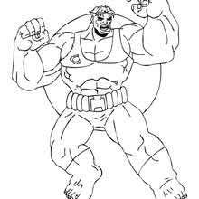 armed hulk coloring pages hellokids