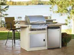 outdoor kitchen refrigerators built in gramp us simple brown stone outdoor kitchen island design built in
