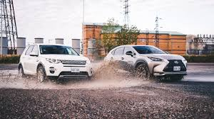 lexus sport nx comparison review 2015 lexus nx 200t vs 2015 land rover