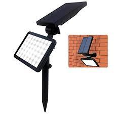 bright night solar lighting amazon com farsic 48 led solar lights spotlight outdoor landscape