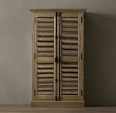 Restoration Hardware Armoire Antique Style Casita Design Restoration Hardware Cabinets