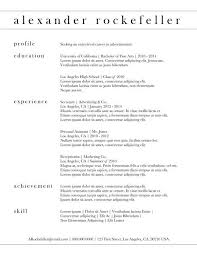 Painter Resume Template Classic Resume Example