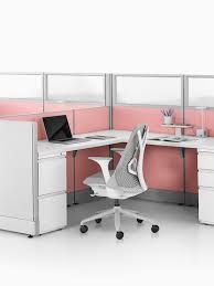 Circular Office Desk Resolve Office Furniture System Herman Miller