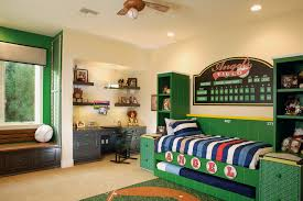 Baseball Bunk Beds Bedroom Boy Room Ideas With Baseball Bat And Bench Seating With