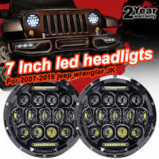 round led lights for jeep firebug jeep wrangler 7 round led headlights drl jeep wrangler