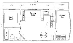 cabin layout cabins at lake arrowhead cground montello wi