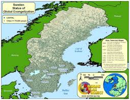 World Map Sweden by Sweden Worldmap Org