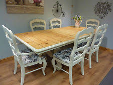 Shabby Chic Furniture For Sale Cheap by French Dining Table And Chairs Ebay