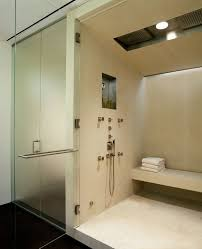 amazing steam shower reviews interior designs with niche neutral new york steam shower reviews with solid color bath sheets bathroom modern and niche lighting