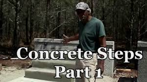 How To Make Homemade Concrete by How To Build Concrete Block Steps Tutorial Youtube