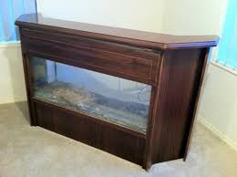 Pictures Of Finished Basements With Bars by Fish Tank Bar Working On Ideas To Use One Of My Tanks As A Bar Or