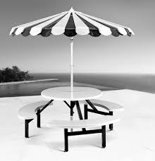black and white striped l shade black and white patio furniture sustainablepals org