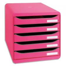 banette de bureau module de classement big box plus 5 tiroirs module de
