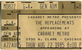 Hitchin A Ride Vanity Fair The Replacements Live Archive Project August 22 1985 Cabaret