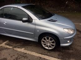 used peugeot 206 cc for sale peugeot 206 cc 2007 convertible in halifax west
