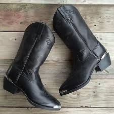 ariat s boots size 9 ariat s cowboy boots size 9 34601 black leather what s it worth