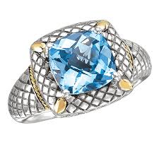silver topaz rings images 710673 6 18k silver with blue topaz cushion cut ring bt 9mm ashx