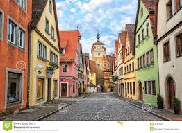 Rothenburg Germany Map by Rothenburg Ob Der Tauber Germany Stock Photo Image 41961228