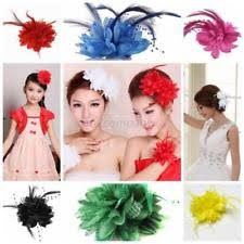hair corsage women s lace hair clip ebay