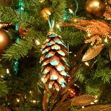pine cone ornament for your tree hgtv
