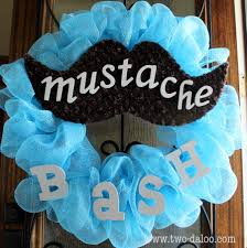 mustache baby shower baby stache bash twodaloo