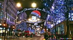 Cheap Christmas Decorations London by London Christmas Lights Christmas Lights Decoration