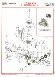 holley aa 1 2100 and 2110 exploded diagrams the old car manual