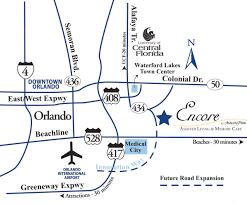 Oviedo Florida Map by Orlando Assisted Living Orlando Memory Care Encore At Avalon Park