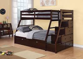 Build A Bear Bunk Bed Twin Over Full by How To Build A Bunk Bed With Stairs Ebay
