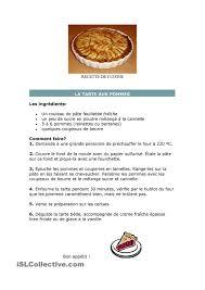 les fonds de cuisine recette de cuisine classe de francais