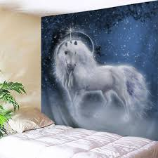 info unicorn animal wall tapestry new usd 21 unicorn animal wall tapestry