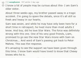 chewbacca pens touching letter to a young star wars fan who lost