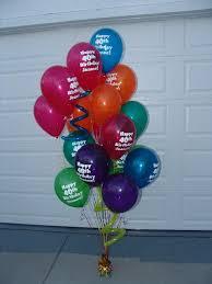 40th birthday balloons delivered february 2009 balloonatics