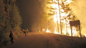 Wild Fires In Oregon State by Burning To Learn Science News For Students