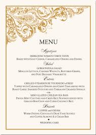 indian menu template paisley buddhist hindu wedding menu cards indian menu card designs